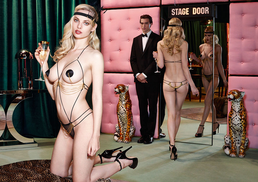 Ashley-Smith-+-Dioni-Tabbers-by-Christian-Larson-for-Agent-Provocateurs-F_W-2014-Lookbooka