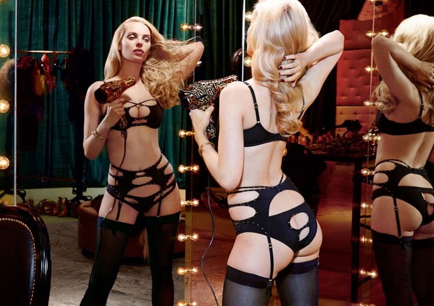 Ashley-Smith-+-Dioni-Tabbers-by-Christian-Larson-for-Agent-Provocateurs-F_W-2014-Lookbookh