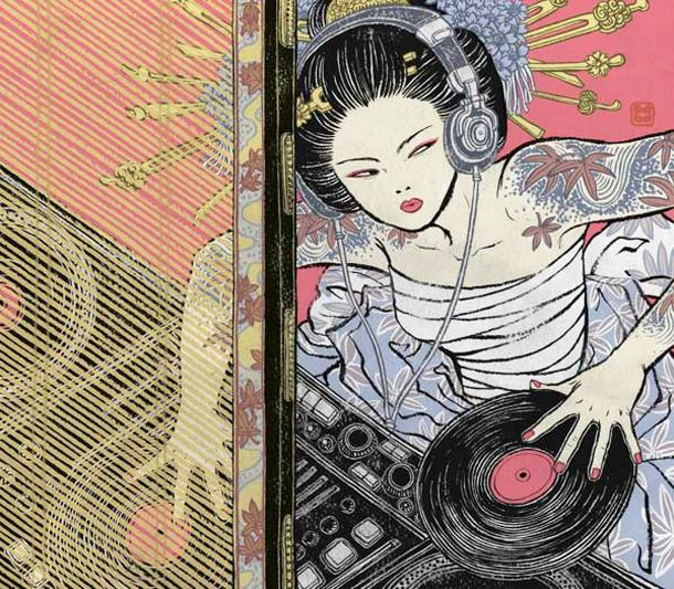 Asian-Super-girls-Illustrations-by-Yuko-Shimizu-1
