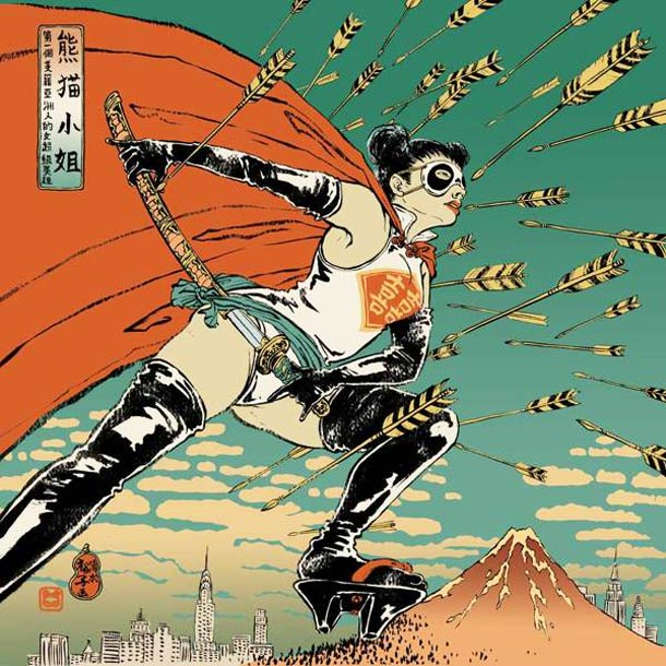 Asian-Super-girls-Illustrations-by-Yuko-Shimizu-2