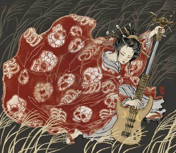 Asian-Super-girls-Illustrations-by-Yuko-Shimizu-4