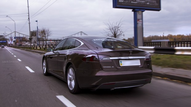 Tesla Model S in Ukraine