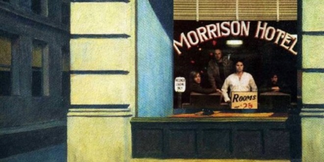 Morrison Hotel By The Doors & New York Office By Edward Hopper