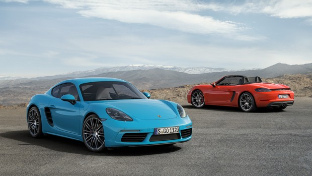 718 Cayman S & 718 Boxster S