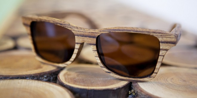 Shwood is a Oregon based company that hand makes wooden sunglasses.