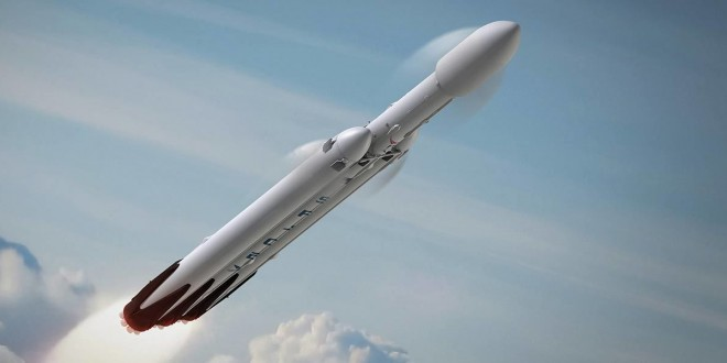 SpaceX планирует запуск тяжеловесной ракеты Falcon Heavy
