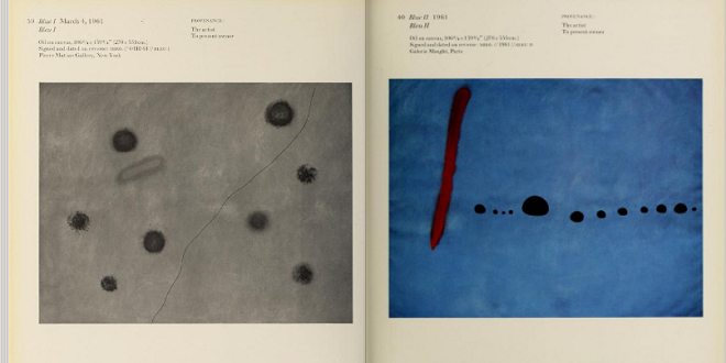 Joan Miró: magnetic fields