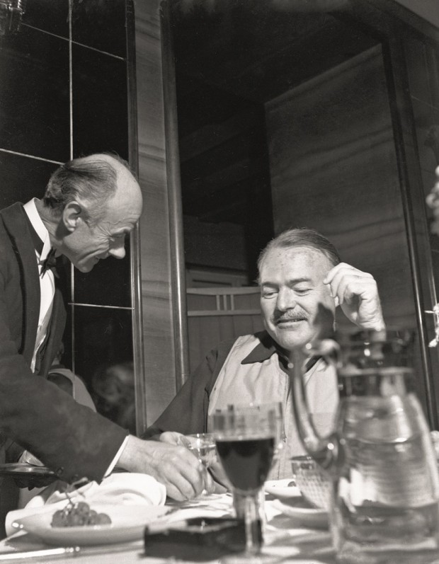 Hemingway And The Waiter