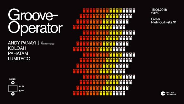Groove Operator: Andy Panayi