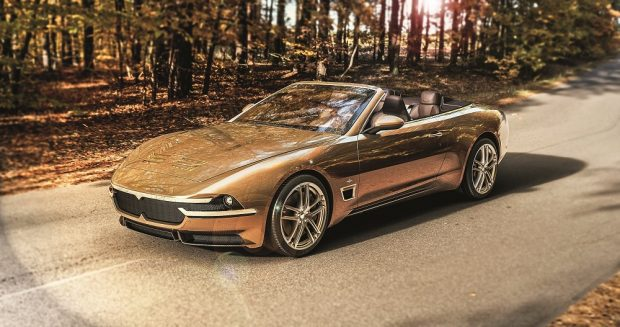 Принц Персии – Touring Superleggera Sciadipersia Cabriolet